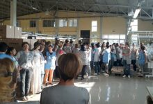 Textile workers in Smederevo on strike