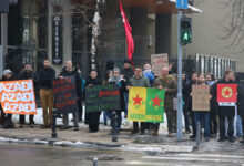 Support rally for Afrin in Belgrade