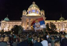"""Protests in Serbia: """"People are sick and tired of such injustice"""""""