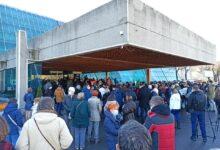 Protest protiv gradnje na Makišu. Komunalna policija i obezbeđenje sprečili građane da uđu u Sava Centar