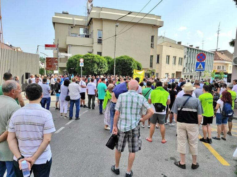 protest u Loznici