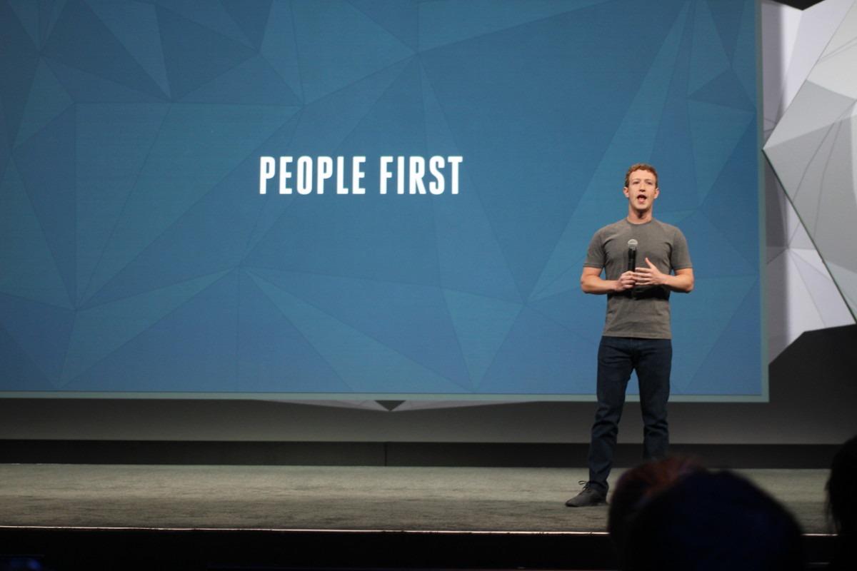 Foto: Maurizio Pesce; Izvor: Facebooks f8 conference