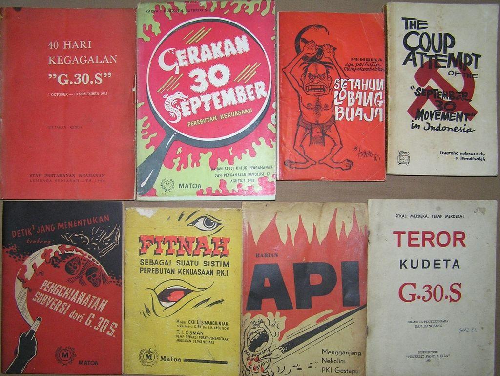 Antikomunistička literatura u Indoneziji; foto: Davidelit / Wikimedia Commons