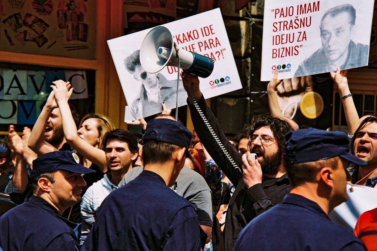 Protest Ne davimo Beograd