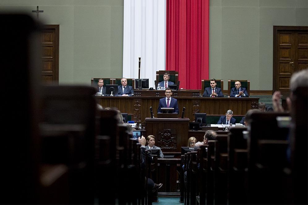 Ekspoze poljskog premijera Mateusa Moravickog; Foto: Kancelaria Premiera / Flickr