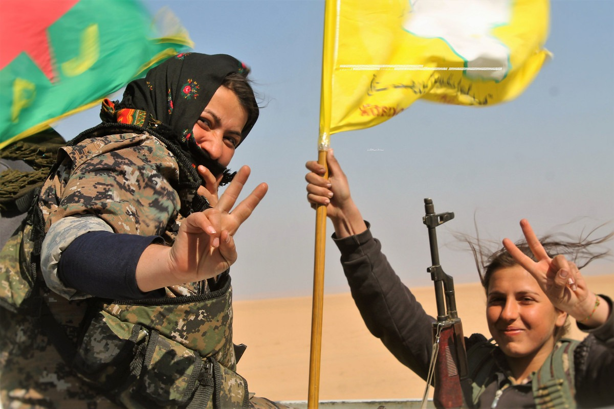 YPG borkinje: Foto: Kurdishstruggle / Flickr
