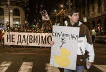 Želimo čist vazduh, želimo zdravlje, želimo život. Protest protiv zagađenja vazduha u Beogradu