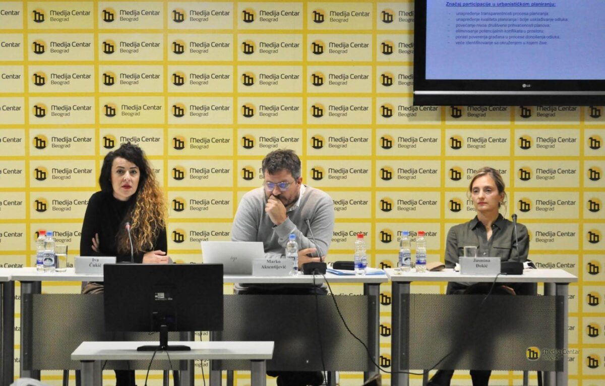 Predstavljanje istraživanja u Medija centru u Beogradu
