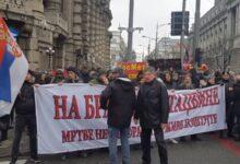 Protest protiv migranata i izbeglica održan je u nedelju u Beogradu