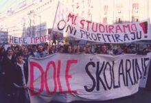 Kratka istorija studentskih borbi za dostupno obrazovanje u Srbiji, 1. deo