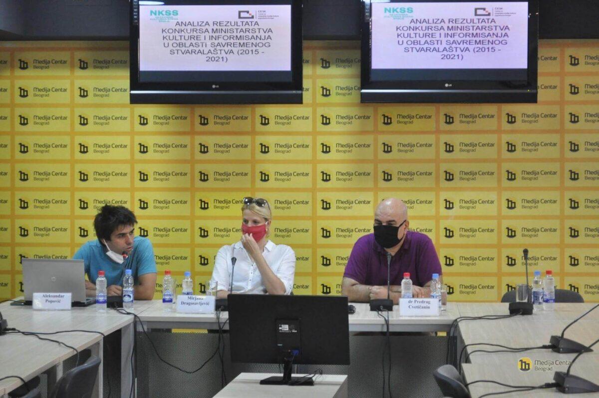 Aleksandar Popović, Mirjana Dragosavljević i Predrag Cvetičanin