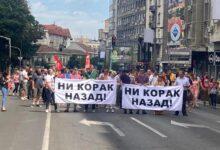 Ni korak nazad: protest protiv izmena Zakona o parničnom postupku