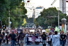 Protest za bezbedan vazduh održan u Beogradu