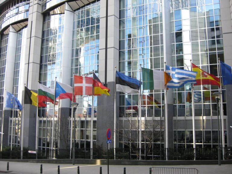 Evropski parlament, zastave