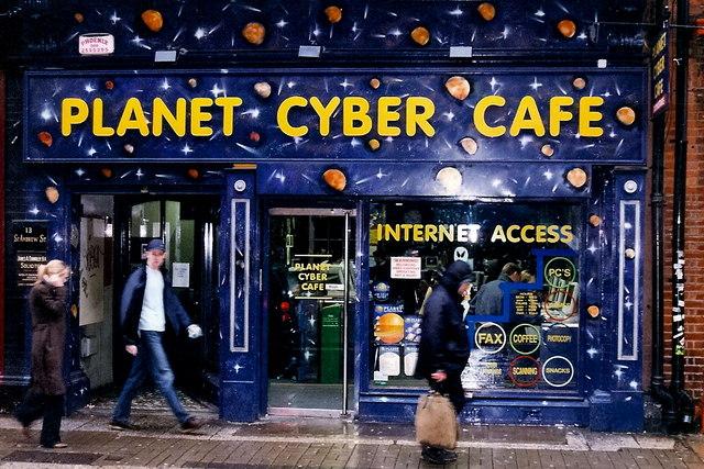 Internet kafe u Dablinu