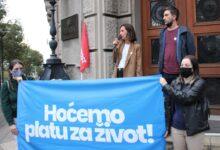 """Solidarnost: """"Zahtevamo od nadležnih da obezbede plate koje će radnicima i radnicama omogućiti dostojanstven život"""""""