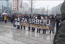 Protest protiv ubistvenog zagađenja vazduha