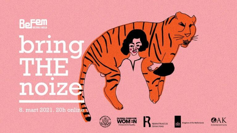 plakat bring the noiz festivala 2021
