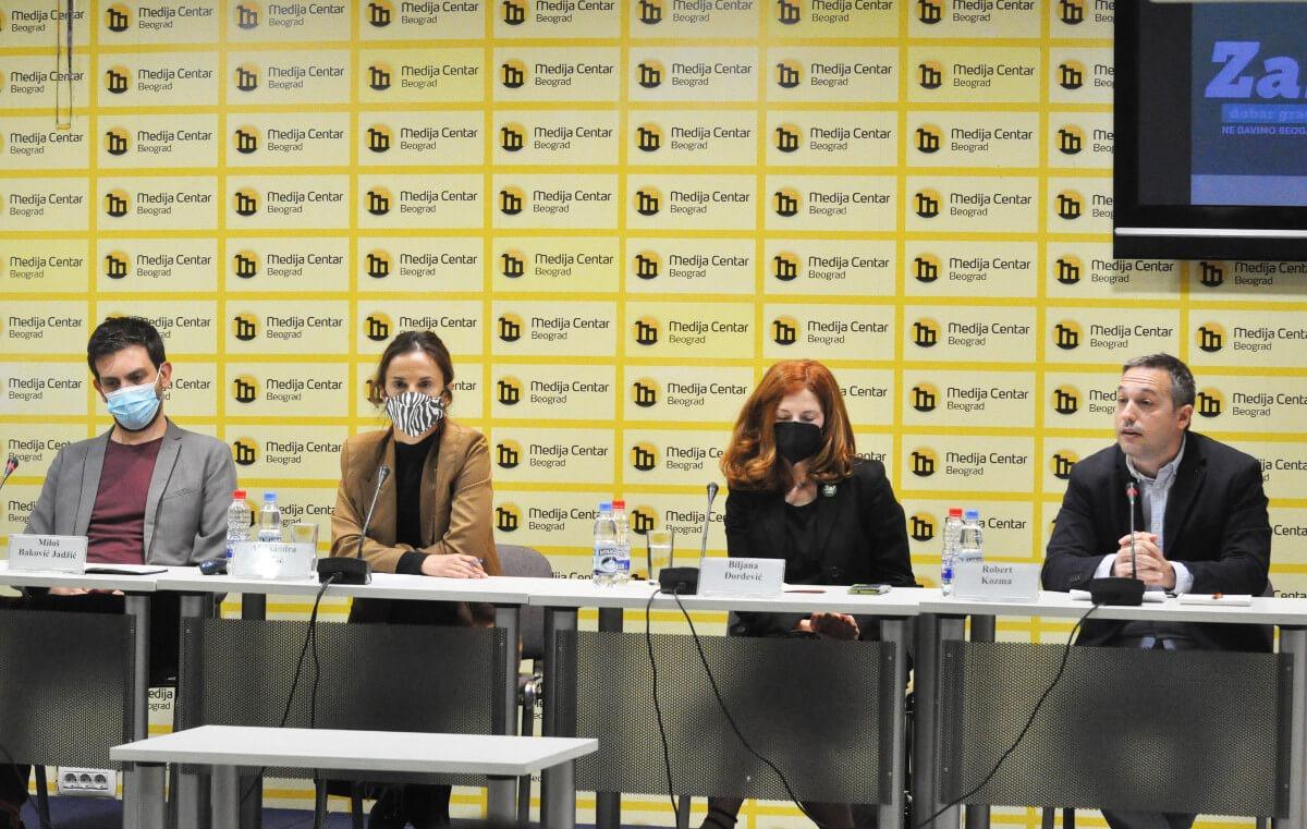 Miloš Baković Jadžić, Aleksandra Lakić, Biljana Đorđević i Robert Kozma