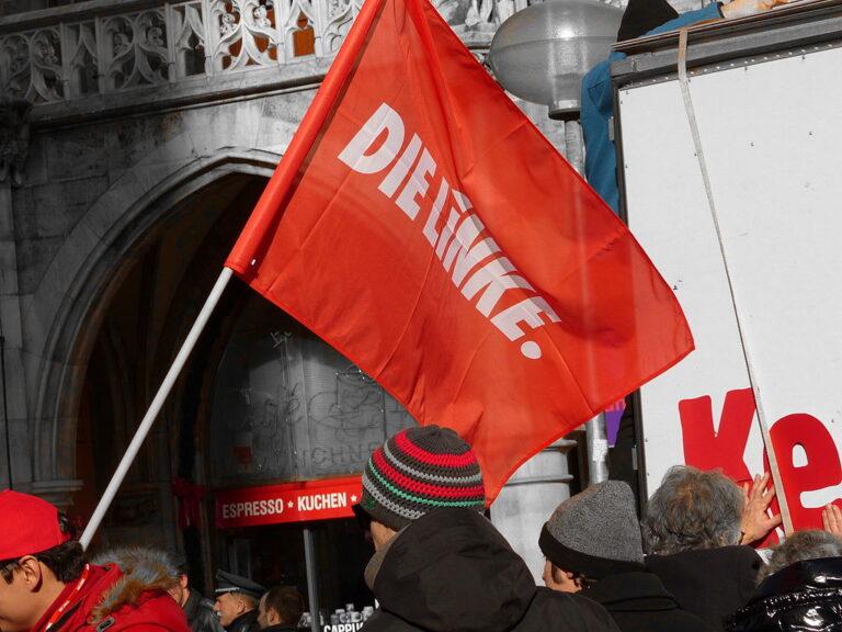 Zastava stranke Die Linke