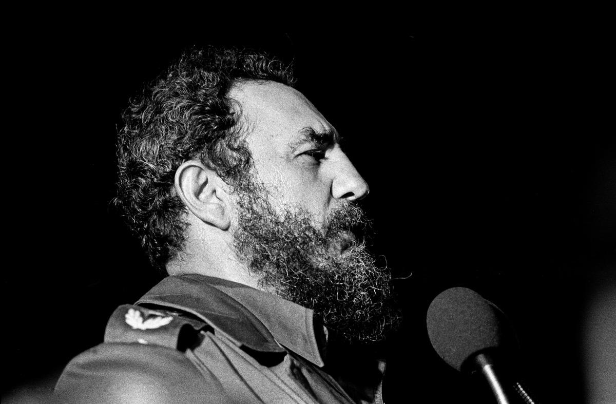 Fidel Kastro, Havana 1978. foto: Marcelo Montecino / flickr