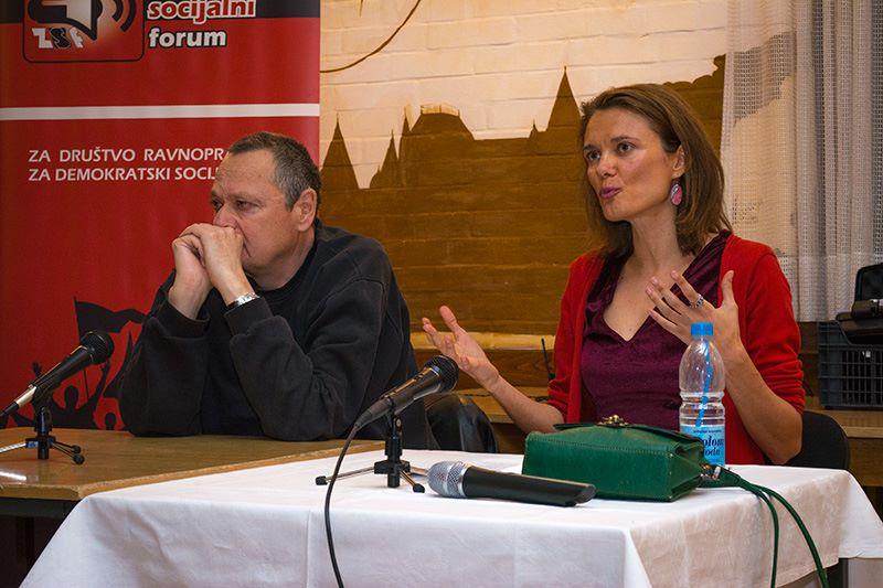 Maja Solar; foto: Zrenjaninski socijalni forum / facebook