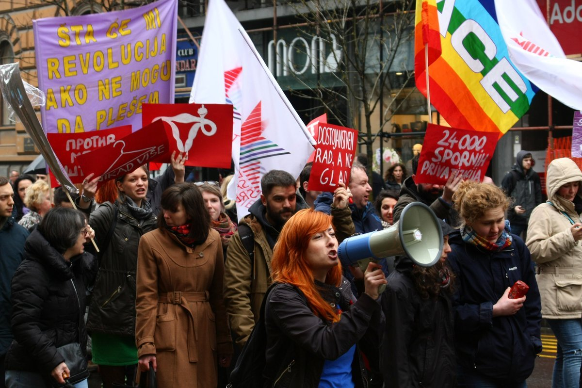 Osmomartovski marš 2017. godine; Foto: Marko Miletić