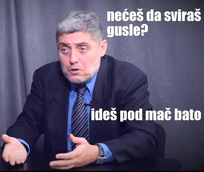 Miroljub Petrovic, duhovni ucitelj / Facebook