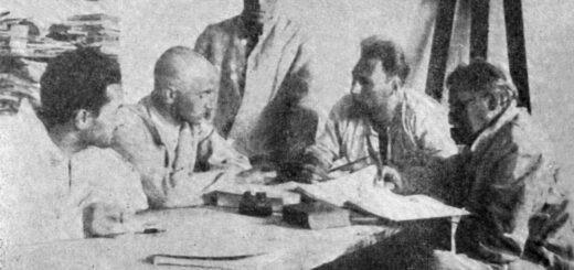 Foto: Moša Pijade i drugovi na robiji / Wikipedia