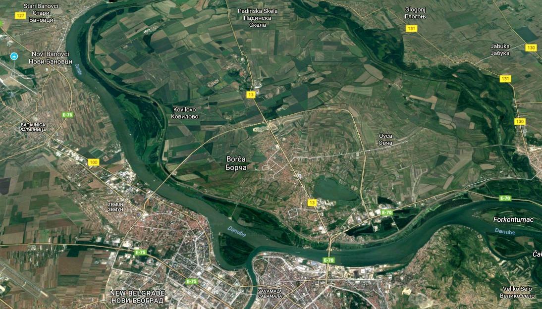 Foto: Snimak ekrana / Google maps
