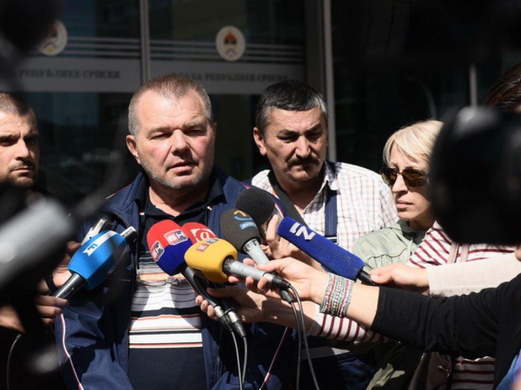 Sindikalni aktivista Zlatko Marin; Foto: Gordana Katana