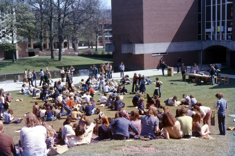 Sastanak Stanarske asocijacije Univerzitetu u Saseksu 1975; Izvor: libcom.org