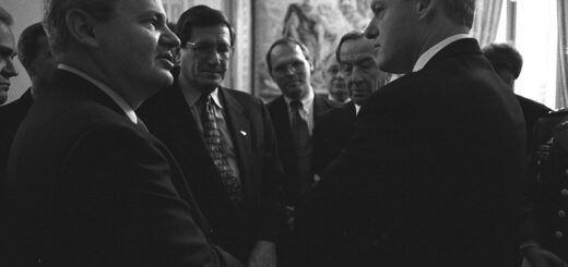 Slobodan Milošević i Bil Klinton, 1995. godina;  Izvor: The Central Intelligence Agency