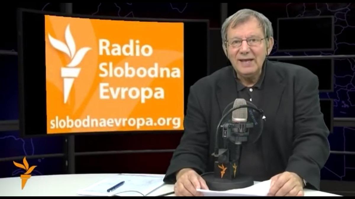 Omer Karabeg u emisiji Most Radija Slobodna Evropa; Snimak ekrana / youtube