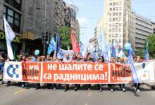"""Sindikati organizuju Prvomajski protest: """"Veće plate za opstanak i ostanak"""""""