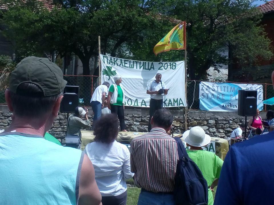 Protest meštana Stare planine; Izvor: Udruženje Temska Stara planina / Facebook