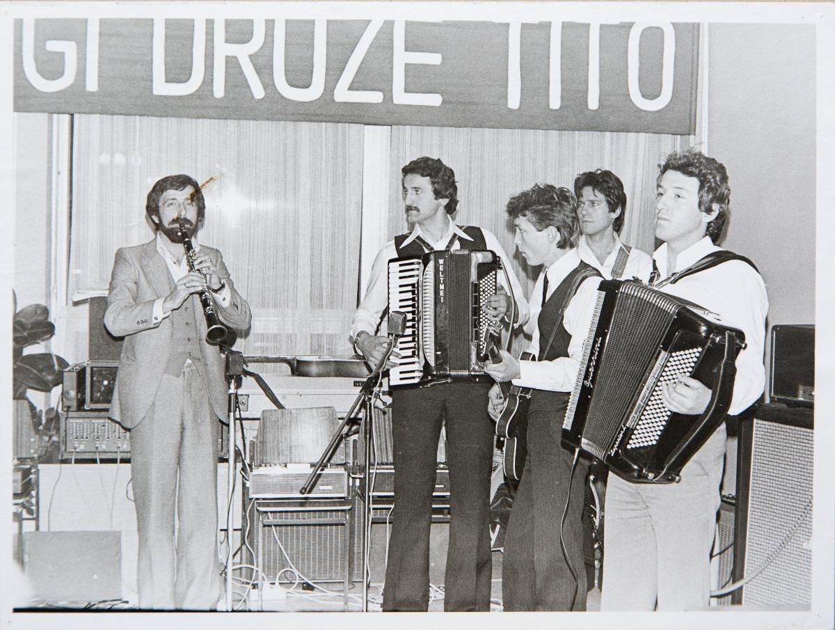 Kulturne aktivnosti u fabrici; Iz kolekcije fotografija Miloša Zvicera