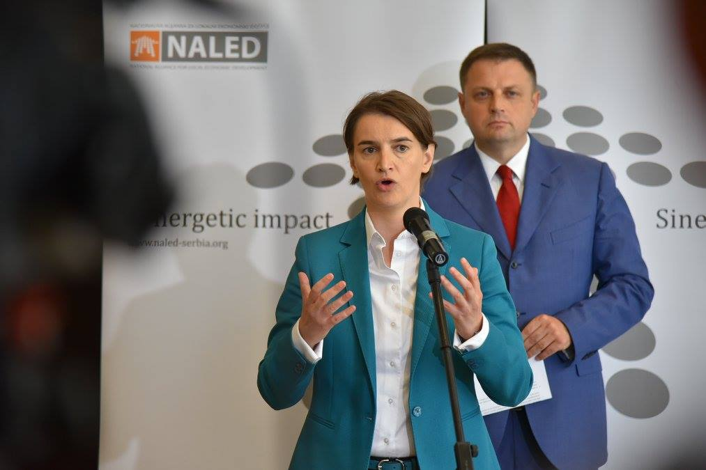 Radni ručak NALED-a i Vlade Srbije; Foto: Nacionalna alijansa za lokalni ekonomski razvoj (NALED) / Facebook