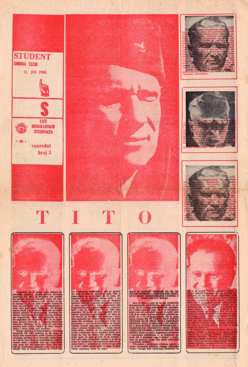 Vanredni broj 3., 11. jun 1968.