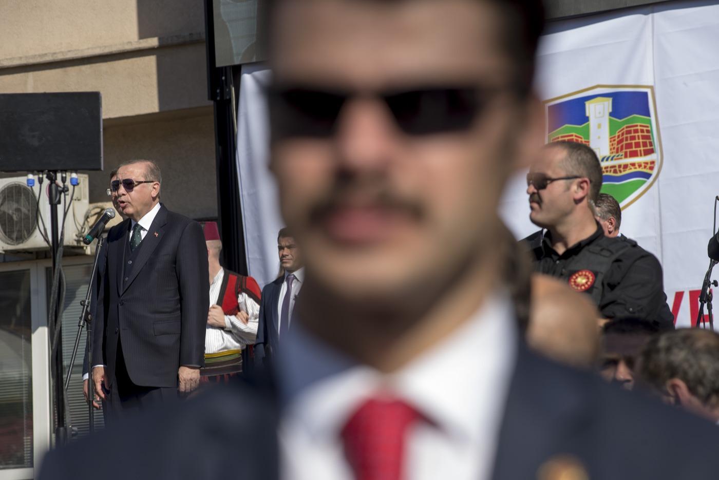 Erdogan u Novom Pazaru; Foto: Milovan Milenković / Kamerades