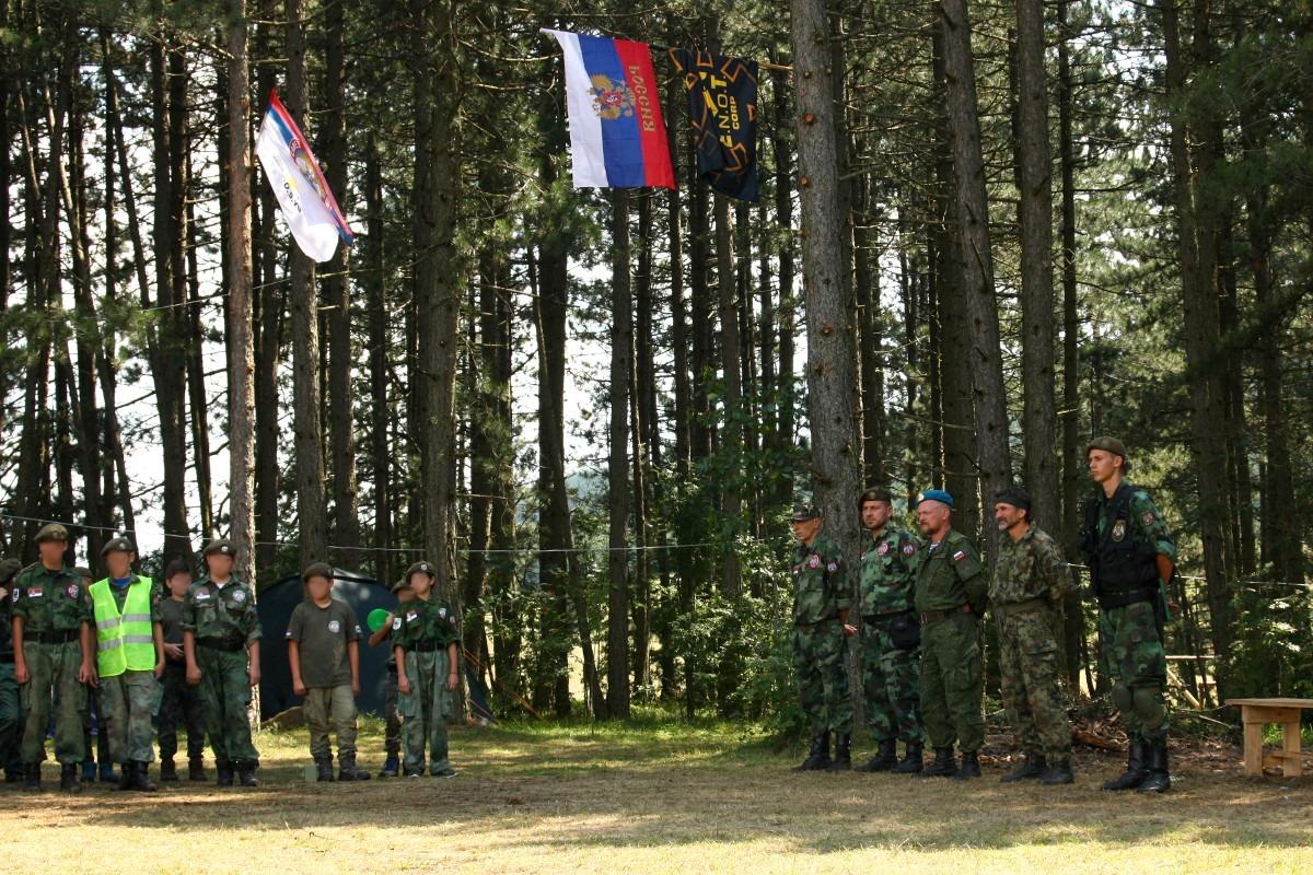 Instruktori koji su držali obuku učesnicima kampa; Foto: Marko Miletić / Mašina