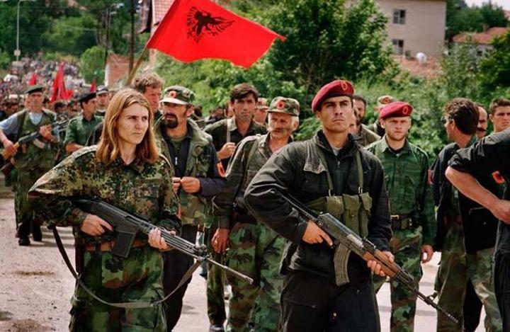 Pripadnici OVK; Foto: D. lleshi / Wikipedia