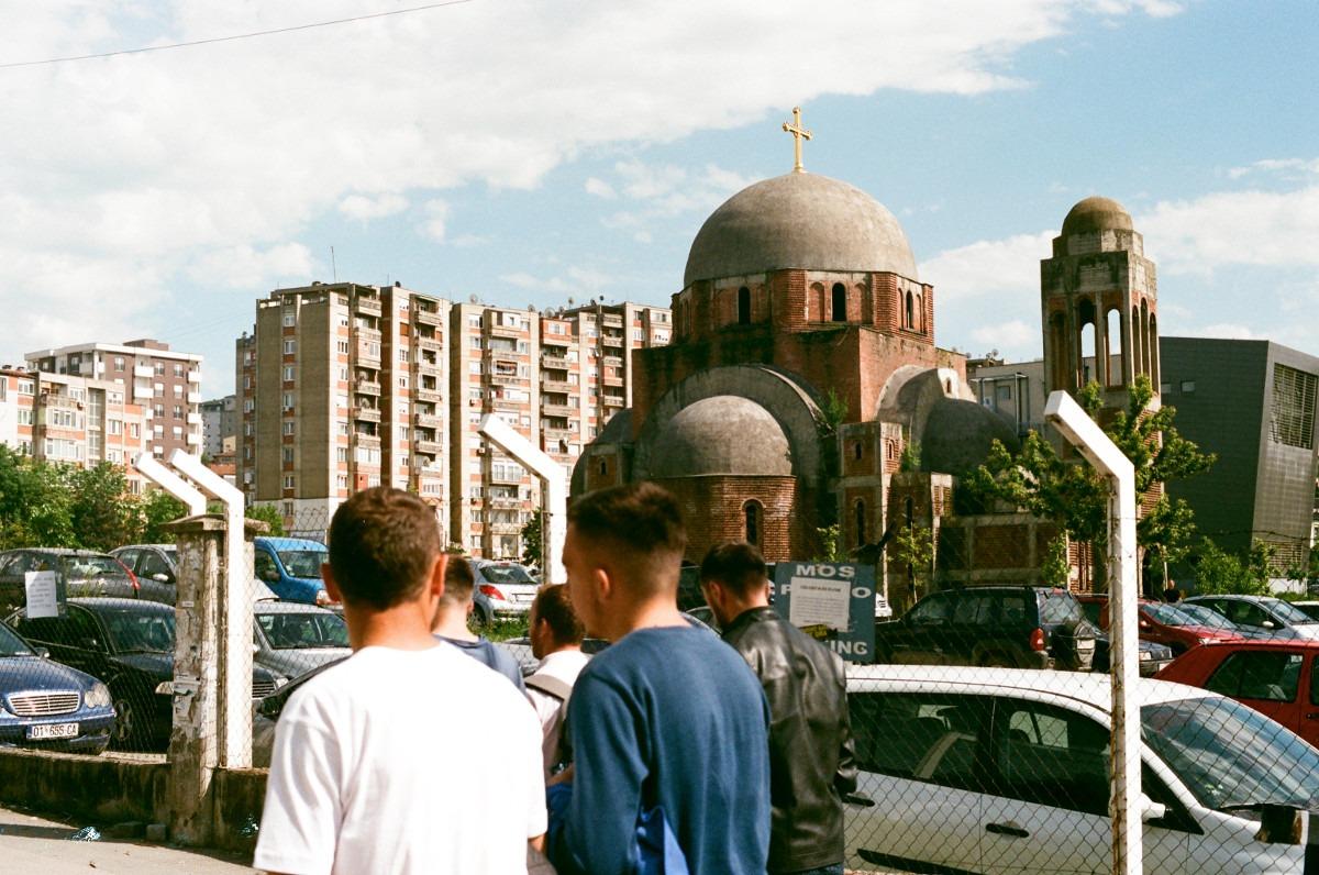 Nedovršena pravoslavna crkva u Prištini; Foto: Marko Miletić