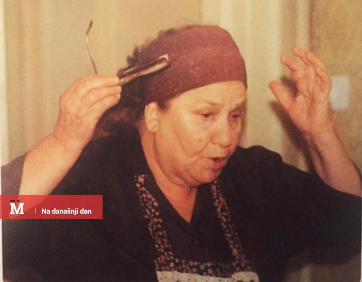 Radmila Savićević u ulozi Ristane Golubović