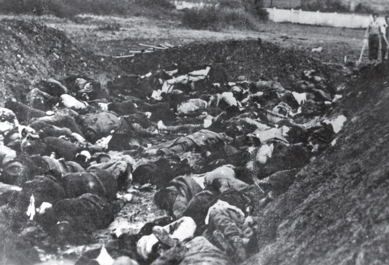 Deo streljanih ljudi u Kraljevu, oktobra 1941. godine