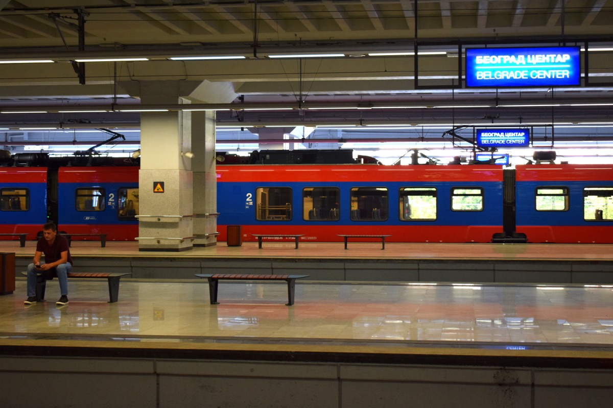 Stanica Beograd centar - Prokop; Foto: Predrag Momčilović / Mašina