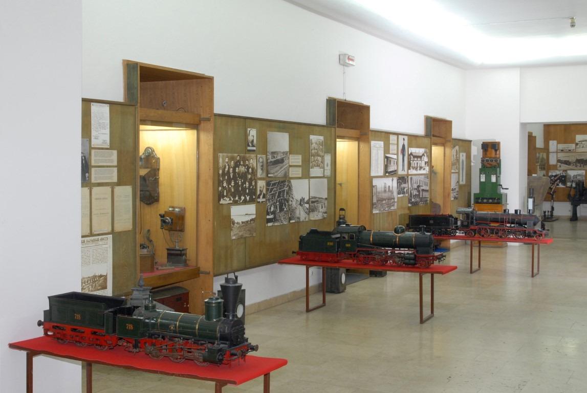 Deo postavke Železničkog muzeja u Beogradu