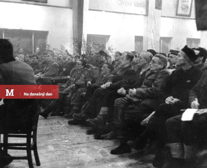 Drugo zasedanje AVNOJ-a; Izvor: znaci.net