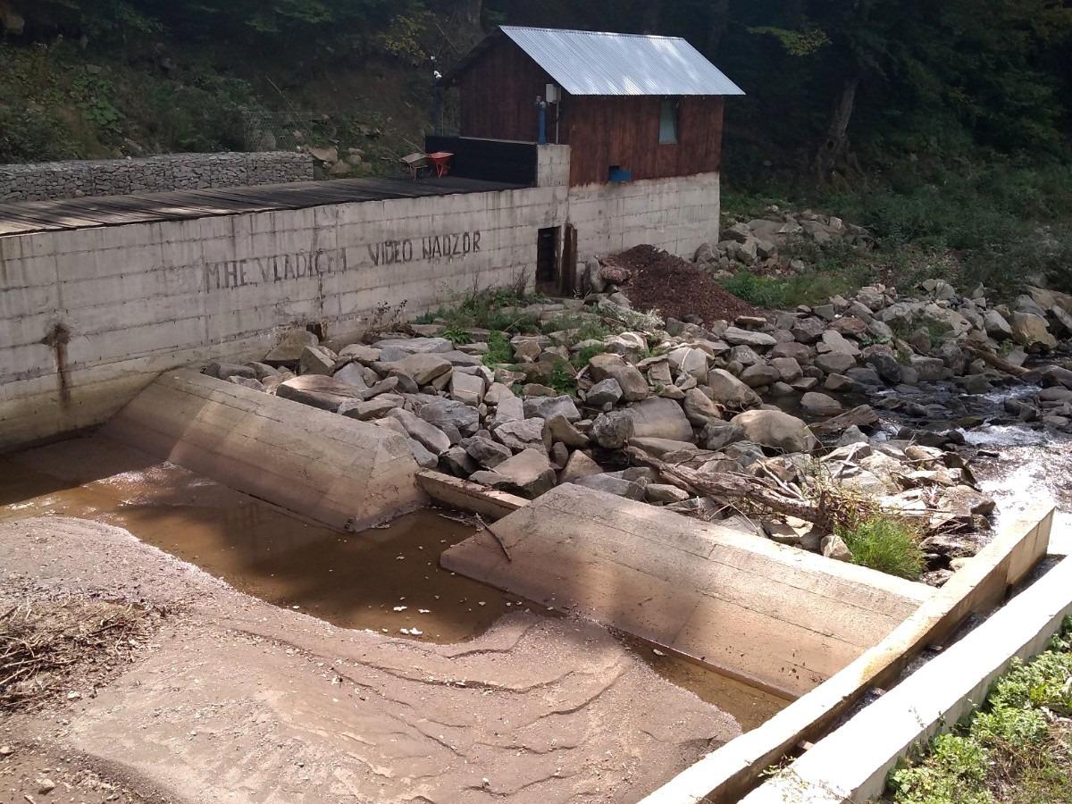 Jedna od mini hidroelektrana u opštini Raška