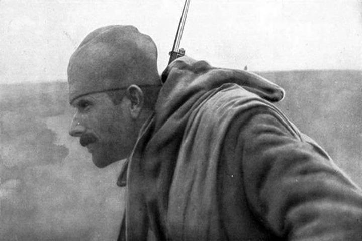 Srpski vojnik u Prvom svetskom ratu